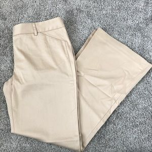 Vintage Moda International Beige/Nude Work Trouser